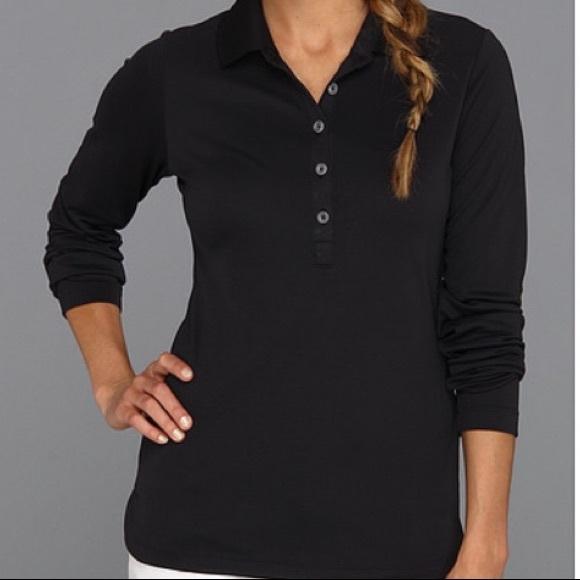 47f37c1a Nike Women's Dri-Fit Long Sleeve Golf Polo Sz S